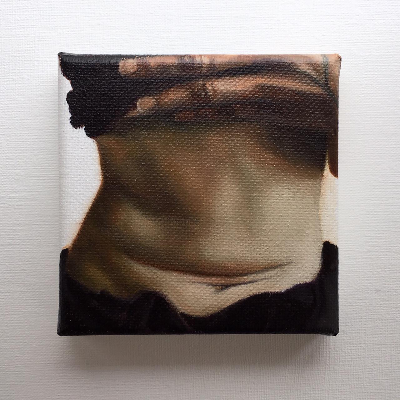 10 x 10cm, olieverf (2019)